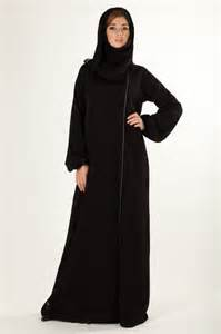 girl in black abaya and scarf