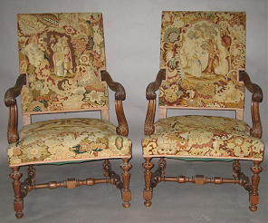 Louis XIV chairs