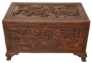chinese carved chest
