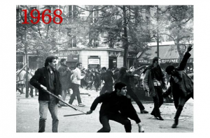 Student unrest during May 1968