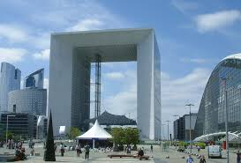 Place de la Defense today