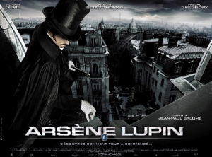 poster for 2004 movie of Arsene Lupin (a prequel)