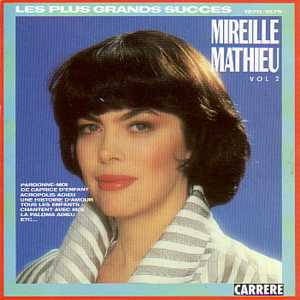 Mireille Mathieu, famous French singer