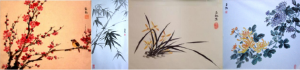 Plants and flowers, Chinese classical style