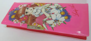 manga on pencil box