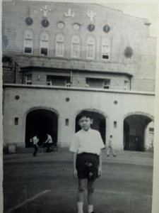 My brother, Abdul Kerim, back in 1970