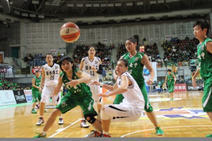 These are the real school basketball team in jade green uniforms. We looked nothing like this.