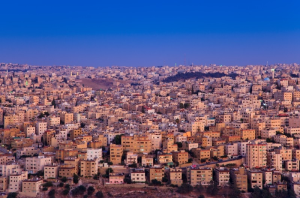 amman, gold pink hour