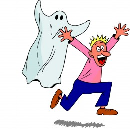scared of ghost