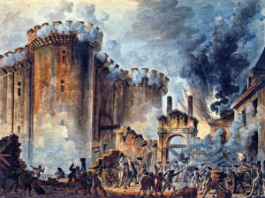 the taking of the bastille